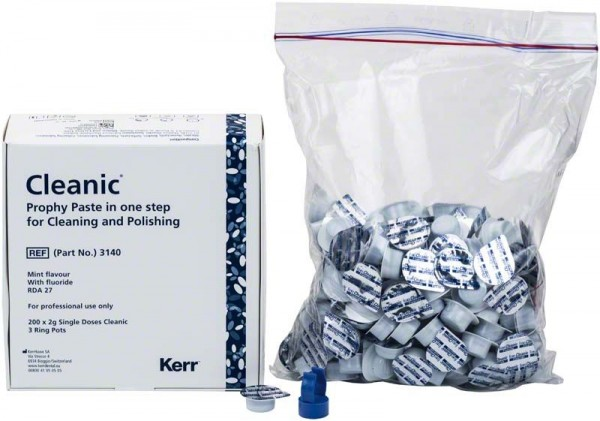 Cleanic® Prophy Paste Single Dose mit Fluorid