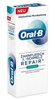 Oral-B Zahnfleisch & -Schmelz Mundspülung Extra Frisch 250 ml