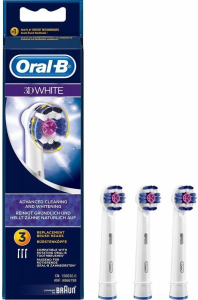 Oral-B 3D-White Aufsteckbürste 3 Stück