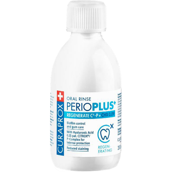 PerioPlus Regenerate 0,09% CHX & CITROX/P 200ml