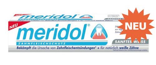 meridol® Sanftes Weiß Zahnpasta