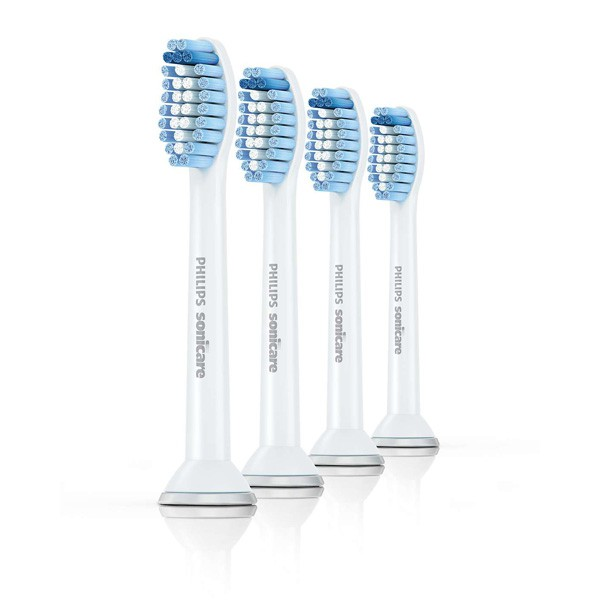 HX6054/07 Philips Sonicare Sensitive Kopf Standard 4er-Pack