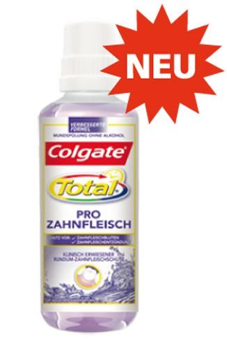 Colgate Total Pro Zahnfleisch