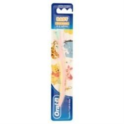 Oral-B Baby- Zahnbürste für Kinder ab 0-2 Jahre (4-24 Monate)