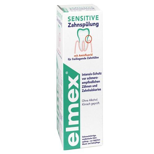 elmex® Sensitive Zahnspülung, 400 ml