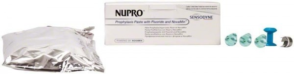 Nupro Sensodyne Polierpaste Single Dose mit Fluorid Minze