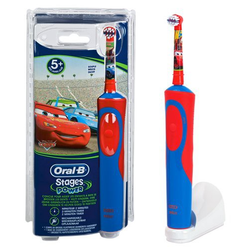 Oral-B Stages Power™ Cars (für Kinder ab 3 Jahren)