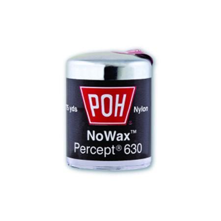 POH Percept 630 schwarze Zahnseide 25 yd - ungewachst, solange der Vorrat reicht