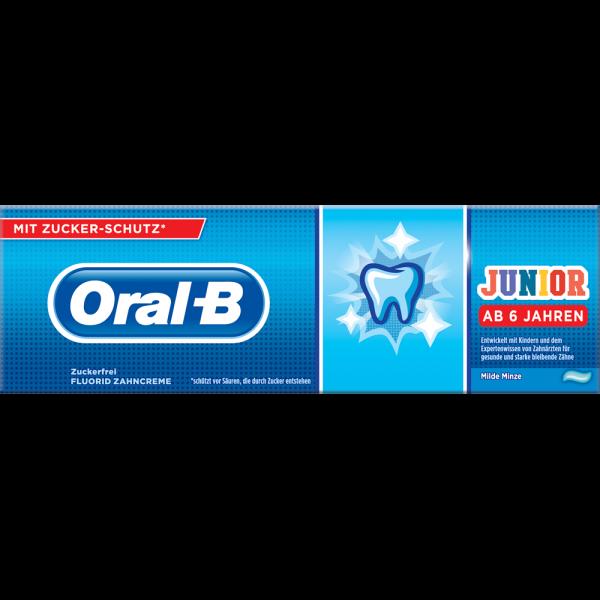 Oral-B Junior Kinderzahncreme für Kinder ab 6 Jahren