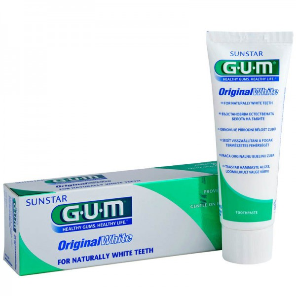GUM Original White Zahnpasta 75 ml