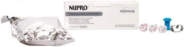 Nupro Sensodyne Polierpaste Single Dose ohne Fluorid Orange