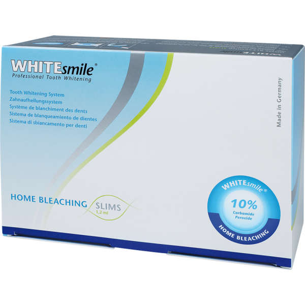 WHITEsmile Home-Bleaching SLIMS 10%