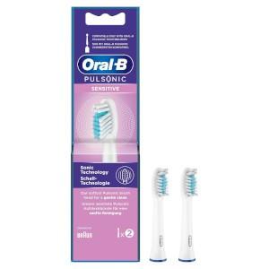 Oral-B Aufsteckbürsten Pulsonic Sensitive 2er