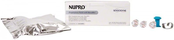 Nupro Sensodyne Reinigungspaste Single Dose ohne Fluorid Orange