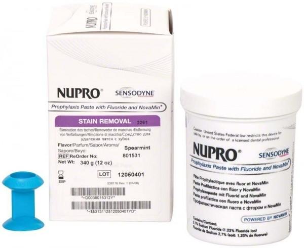 Sensodyne Reinigungspaste Topf mit Fluorid Minze