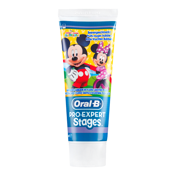 Oral-B Stages Kinderzahncreme Mickey