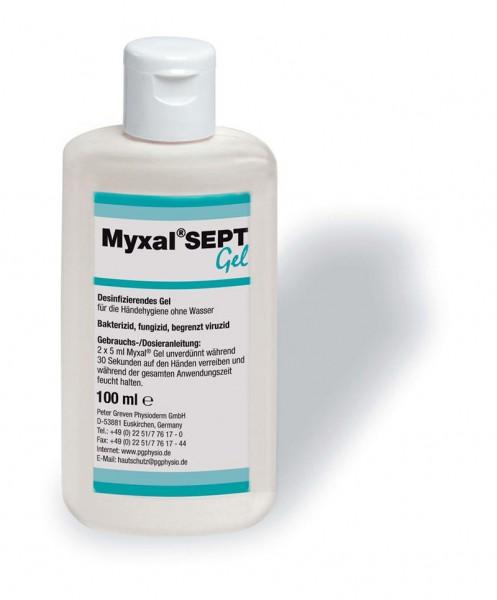 Myxal SEPT Gel Händedesinfektion, 100 ml