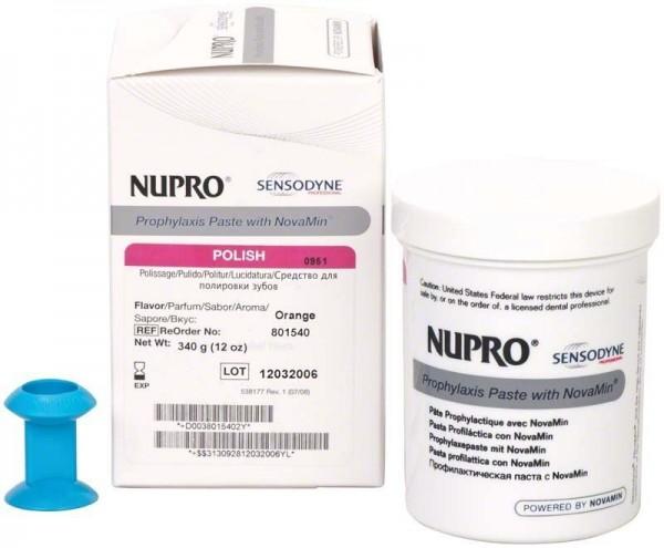 Nupro Sensodyne Polierpaste ohne Fluorid Topf Orange