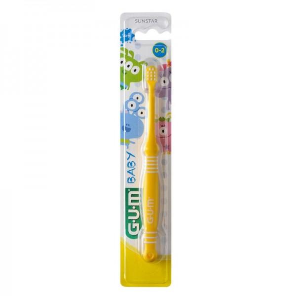 GUM® Baby Monster Zahnbürste 0-2 Jahre