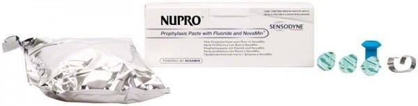 Nupro Sensodyne Reinigungspaste Single Dose mit Fluorid Minze