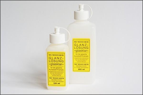Mumioform Glanzlösung Glasklar 250 ml Flasche