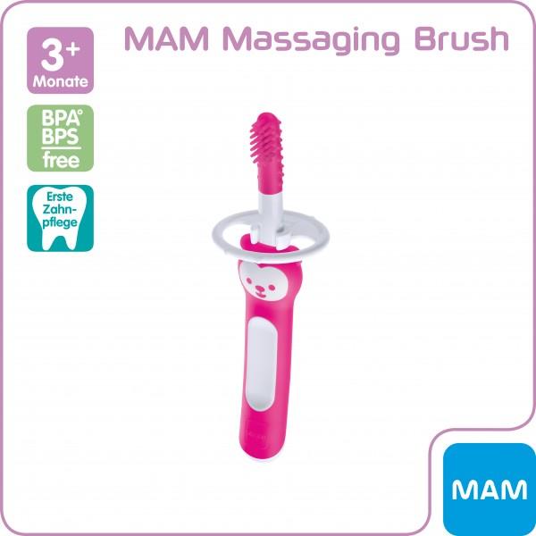 MAM Massaging Brush 3+