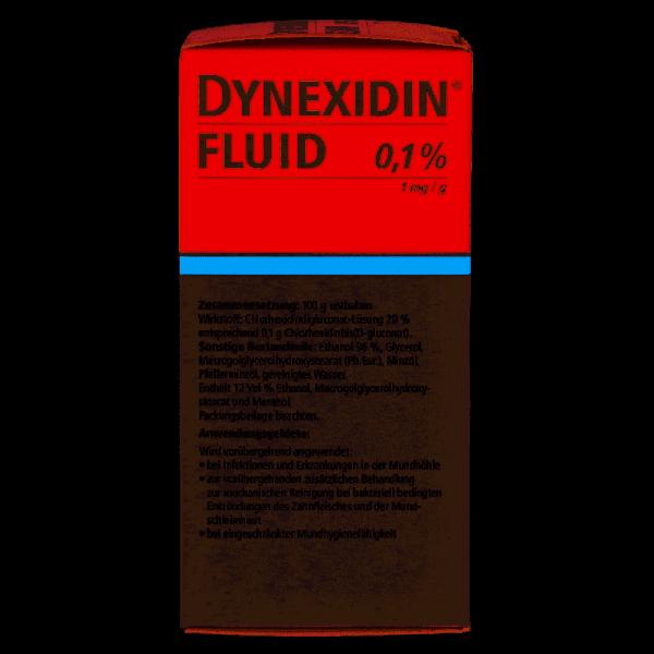 Dynexidin Fluid 0,1% CHX 200 ml