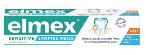 elmex® Sensitive Sanftes Weiss 75 ml