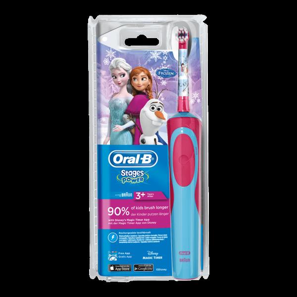 Oral-B Stages Power™ Eiskönigin (für Kinder ab 3 Jahren)
