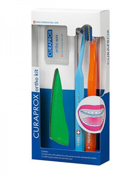 CURAPROX Ortho Kit CS 5460 ortho, CS1009, ortho Pocket Set, ortho wax