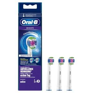 Oral-B Aufsteckbürste 3D White CleanMaximizer 3 Stück