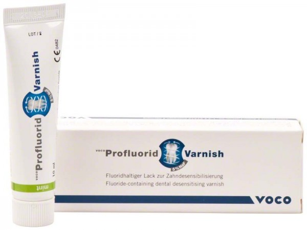 Voco Profluorid Varnish 10 ml Tube Minze